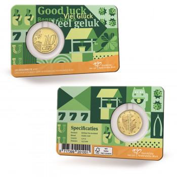 Coincard 10 cents PAYS-BAS...