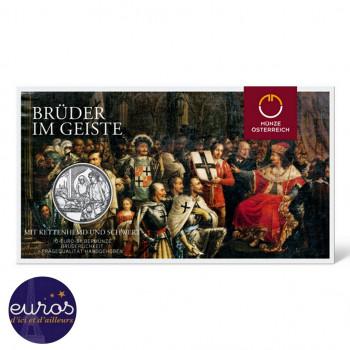 10 euros commémorative AUTRICHE 2021 - Chevalerie - Fraternité - Argent BU
