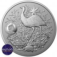 AUSTRALIE 2021 - 1$ AUD - Kangourou - Armoiries de l'Australie (1)