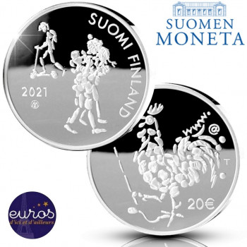 20 euros Finlande 2021 -...