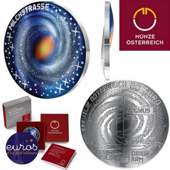 20 euros AUTRICHE 2021 - La Voie Lactée, L'Univers non répertorié