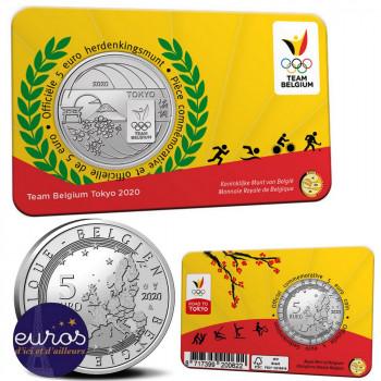 Coincard 5 euros BELGIQUE...