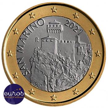 1 euro SAINT MARIN 2021 -...