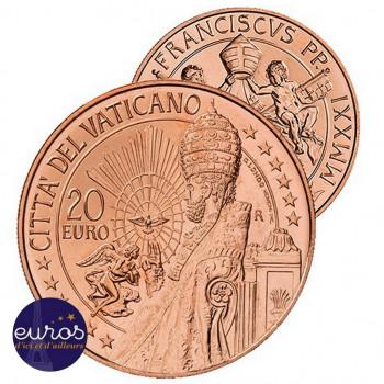 20 euros cuivre VATICAN...