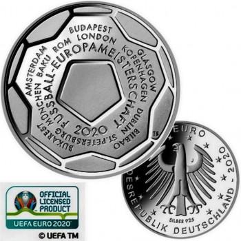 Avers et revers 20 euros ALLEMAGNE 2020 - Championnat d'Europe 2020 de l'UEFA™