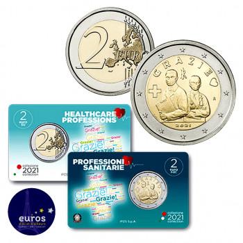 Coincard 2€ ITALIE 2020 Merci Brillant Universel