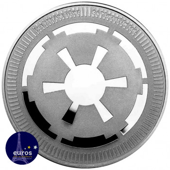 Avers NIUE 2021 - 2$ NZD - The Galactic Empire™ - 1oz argent - Star Wars™
