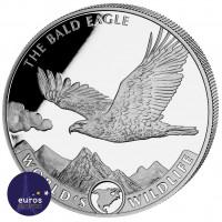 CONGO 2021 - L'Aigle à Tête Blanche - World´s Wildlife - 1oz argent