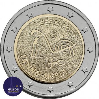 2 euros commémorative ESTONIE 2021 - Peuple Finno-Ugric - UNC