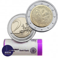 Rouleau 25 x 2 euros commémoratives ESTONIE 2021 - Peuple Finno-Ugric - UNC