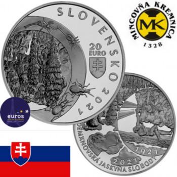 20 euros SLOVAQUIE 2021 - Zone Paysagère Protégée des Montagnes - Grotte de la Liberté de Demänovská - Belle Epreuve