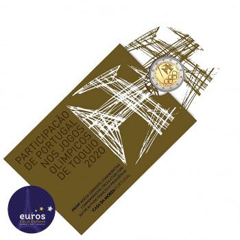 2 euros commémorative PORTUGAL 2021 - Jeux Olympiques à Tokyo - Belle Épreuve
