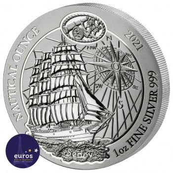 Avers de la pièce (bullion) RWANDA 2021 - Le Sedov - 1oz Argent 999,99‰ - Bullion Coin