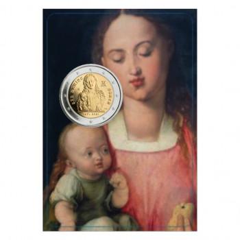 Blister de la pièce de 2 euros commémorative SAINT MARIN 2021 - Naissance d'Albrecht Dürer - BU