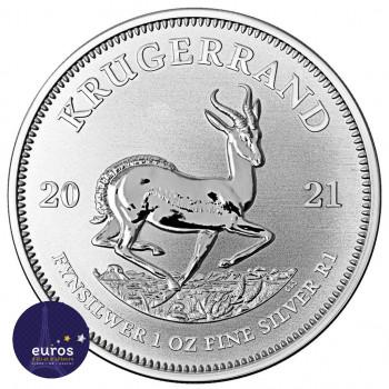 AFRIQUE du SUD 2021 - Krugerrand - 1 Oz (once) - Argent 999,99‰ - Bullion Coin