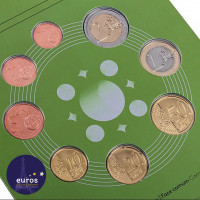Revers série Portugal 20218 pièces 1 cent à 2 euros