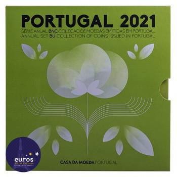 Set BU PORTUGAL 2021 - Série 1 cent à 2 euros - Brillant Universel