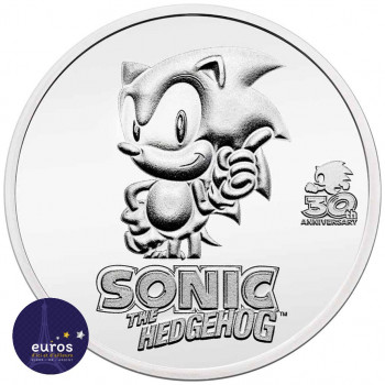 NIUE 2021 - 2$ NZD Sonic...