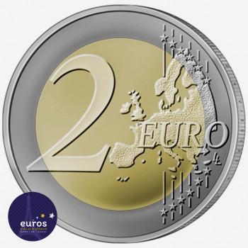 Revers de la pièce de 2 euros commémorative LITUANIE 2021 - Dzukija - Régions Ethnographiques Lituaniennes - UNC