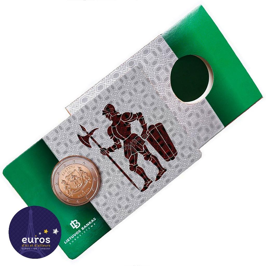 Coincard 2 euros commémorative LITUANIE 2021 - Dzūkija - Régions Ethnographiques Lituaniennes - BU