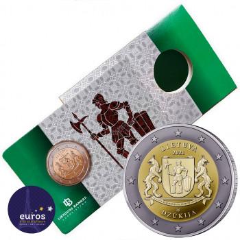 Coincard 2 euros commémorative LITUANIE 2021 - Dzūkija - Régions Ethnographiques Lituaniennes - Brillant Universel