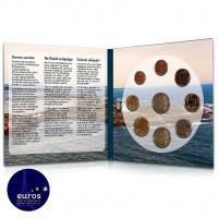 Set BU FINLANDE 2021 - intérieur - Archipel - Série 1 cent à 2 euros + 2€ cc Aland - Brillant Universel