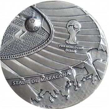 "Médaille FIFA 2014 ""Coupe..."