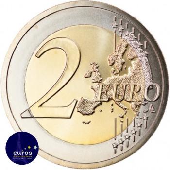 Revers de la pièce de 2 euros annuelle AUTRICHE 2021 - Effigie de Bertha von Suttner - Brillant Universel