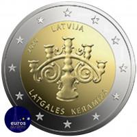 25 x pièce de 2 euros commémoratives LETTONIE 2020 - Céramique de Lettonie
