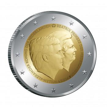 2 euros commémorative Pays-Bas 2014 - Double Portrait