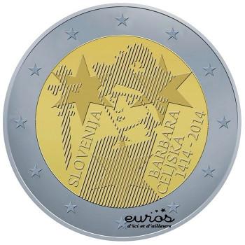 2 euros Slovénie 2014 - Barbara Celjska