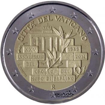 2 euros Vatican 2014 BU...