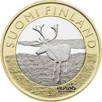 """5 euros Finlande 2015 """"Lapland"""""""