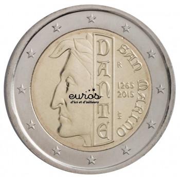 "2 euros Saint Marin 2015 ""Dante Alighieri"""
