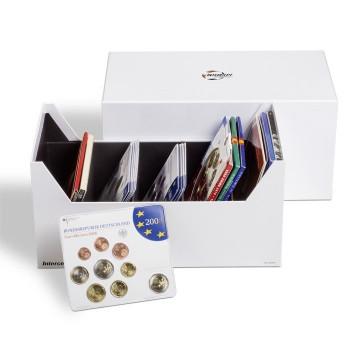 Box intercept L 180 pour sets de monnaies, lettres, documents jusqu'à 180 x 160mm
