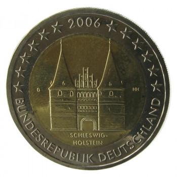 2 euros ALLEMAGNE 2006 - Le Schleswing Holstein - UNC