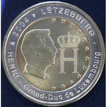 2 euros LUXEMBOURG 2004 - Effigie Grand Duc Henri