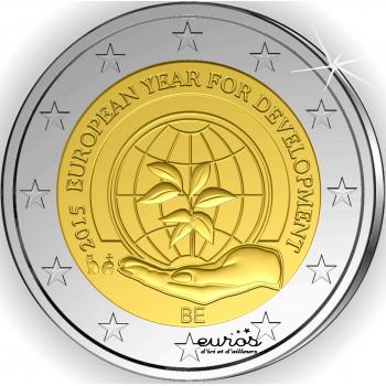 2 euros Belgique 2015 - Année Européenne du développement