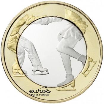 5 euros Finlande 2015 - Patinage artistique