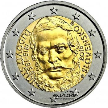 2 euros Slovaquie 2015 - 200ème Anniversaire de la Naissance de Ludovít Štúr